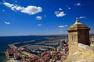 En el centro de Alicante