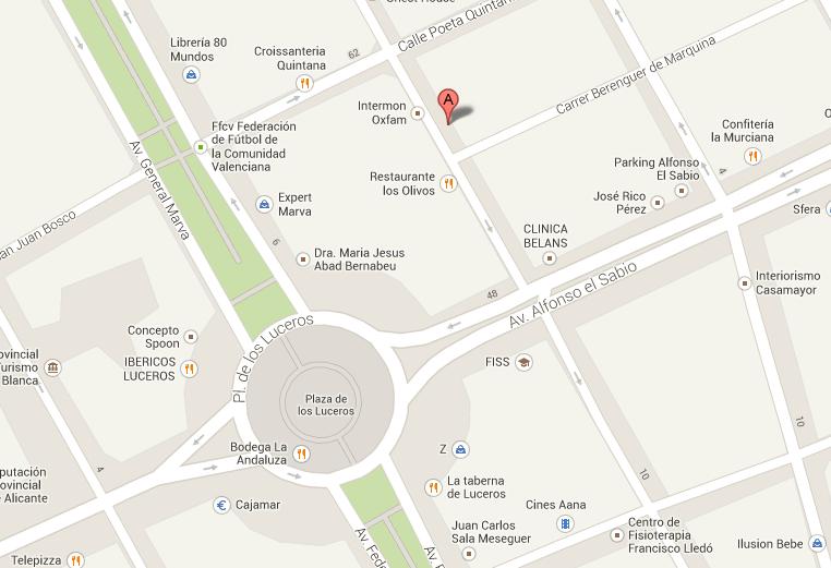 Alquiler oficina Alicante